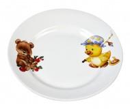 Тарелка мелкая 175 мм Утенок/Медвежонок